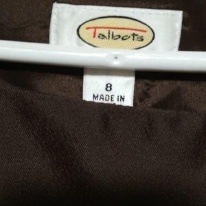 Brown Talbot's Dress
